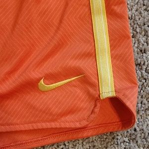 Nike Shorts - Orange and yellow NIKE shorts